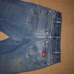 """Men's """"loved-in"""" style Dickies jeans"""